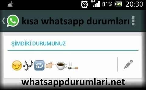 Kısa Whatsapp Sözleri