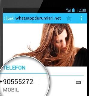 Whatsapp Yurtdışından Arkadaş Ekleme