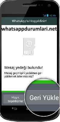 Whatsapp Silinmiş Mesajları Geri Getirme